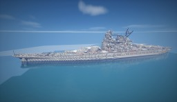 FUSO class MIssile Battleship Minecraft Map & Project