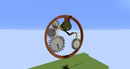 Steampunk monocycle Minecraft Map & Project