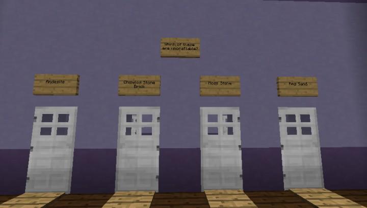 Minecraft Trivia Race Minecraft Project