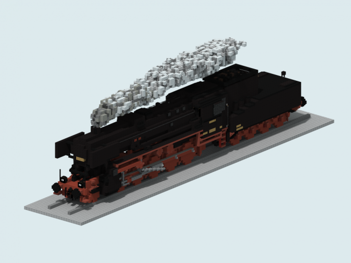 BR 52 with a steifrahmentender