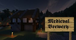 Medieval Brewery Minecraft Map & Project