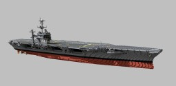 USS George Washington (CVN-73)  1:1 scale Minecraft Map & Project