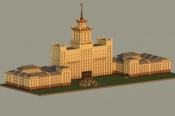 South Ural state University (Chelyabinsk) Minecraft Map & Project