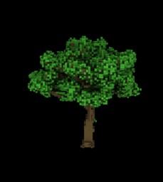 Garden Tree - Custom Tree Minecraft Map & Project