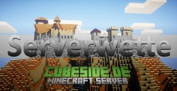 [Survival Build] Cubeside Serverwette - Burg Minecraft Map & Project