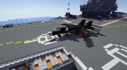 Su-47 Berkut 1:1 Minecraft Map & Project