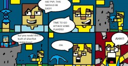 MINECRAFT pvp pt.1 (a comic) Minecraft Blog