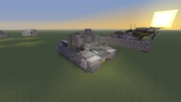 Girls und Panzer, Tiger (P) Leopon Team version Minecraft Map & Project