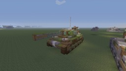 "WWII U.S M18 ""Hellcat"" tank destroyer Minecraft Map & Project"