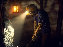 Coal Miner Timelapse Minecraft