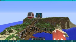 Flower Island Minecraft Map & Project