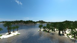 Caribbean island - Landscaping Minecraft Map & Project