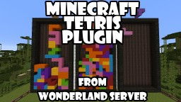 My Own Minecraft Tetris Minecraft