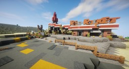 [DS]Fallout 4: Red Rocket Gaz Station Minecraft Map & Project