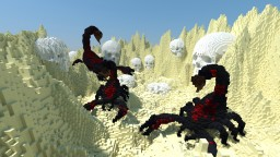 Scorpions & skulls Minecraft Map & Project