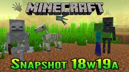 Minecraft Aquatic Update Snapshot 18w19a | Undead Mobs Can Walk Underwater & More! Minecraft Blog Post