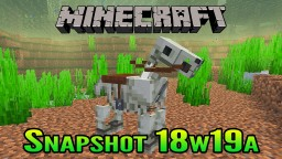 Minecraft Aquatic Update Snapshot 18w19a | Riding Skeleton Horses Underwater and Beacon Sounds Minecraft Blog Post