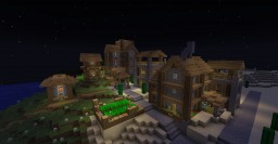 Upgraded village Minecraft Map & Project