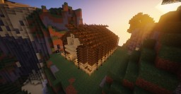 Boat house (house made out of boats) Minecraft Map & Project