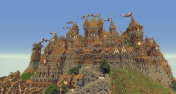 Huge Medieval Castle [Castle of Theams] Minecraft