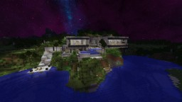 Modern concrete house #6 Minecraft Map & Project