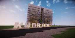 Kubrick Art Gallery - City State of Epsilon Minecraft Map & Project