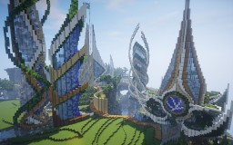 Ender : An Ecological Futuristic City Minecraft