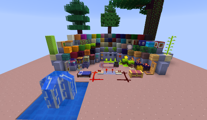 1 12 2 16x Fez Revival Minecraft Texture Pack