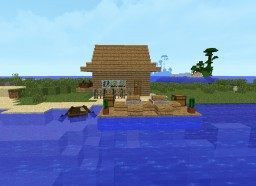 Halászkunyhó./Fishing hut Minecraft Map & Project