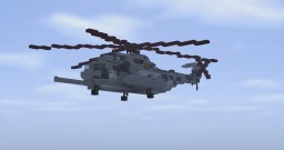 CH-53 Copter Minecraft Map & Project