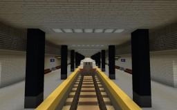 North End Metro Station Minecraft Map & Project