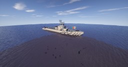 Type 160-class Fire Support Corvette (Medium) Minecraft Map & Project