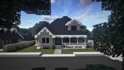 Small American Suburban House Minecraft Map & Project