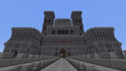 Huge Castle/Fort Minecraft Map & Project