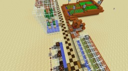 Early Game Automated Farms Minecraft Map & Project