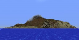 Mountainous Survival Island with Mysterious Cavern Minecraft Map & Project