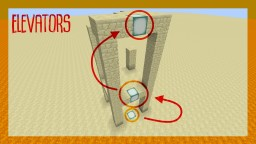 Elevator-Blocks for Minecraft 1.12 Minecraft Map & Project