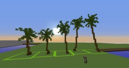 Palm Trees pack Minecraft Map & Project