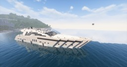 S line Yacht Minecraft Map & Project