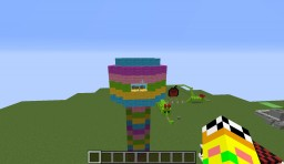 GamingWithJen Theme Park Minecraft Map & Project