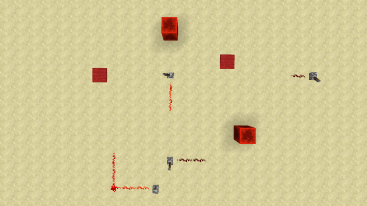 Easily connenct any two redstone lines without having to interrupt another one!