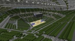 Bankers Life Fieldhouse | Basketball Arena Megabuild + DOWNLOAD Minecraft Map & Project