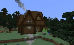 Spruce house Minecraft Map & Project