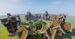 Devixiu's Medieval Town Minecraft Map & Project