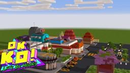 [Pre 1.4.1] Lakewood Plaza Turbo! OK K.O.! in Minecraft! Minecraft Map & Project