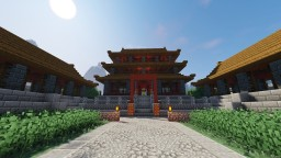 Ancient Chinese Town Minecraft Map & Project