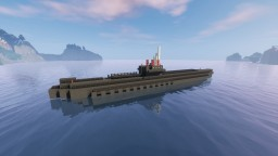 German U-Boot and Submarine Base Minecraft Map & Project