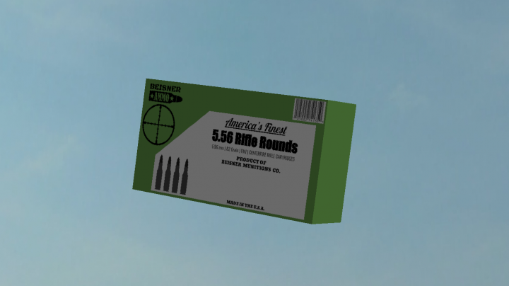 Box of 5.56 Cartridges