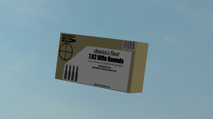 Box of 7.62 Cartridges