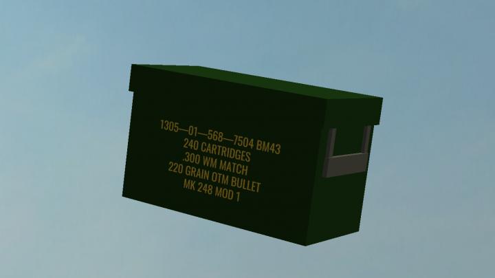 Box of .300 Magnum Cartridges